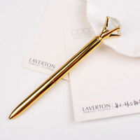 Creative Big Diamonds Metal Pens Gem Crystal Ballpoint Pen Stationery