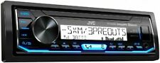 JVC KD-X35MBS In-Dash Digital Media Marine Bluetooth Receiver iPhone/Sirius XM