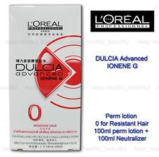 L'Oreal Loreal Dulcia Advanced IONENEG Perm Lotion 0 Resistant Hair FREE TRACK
