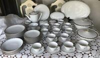 Bavaria -Waldershof Germany - Huge Dinnerware Set-  Classy & Elegant 70 Pieces