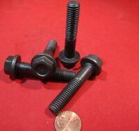Flanged Cap Screw Bolt, Steel 10.9 Metric, PT, M10 x 1.5 x 50 mm Length, 20 Pc