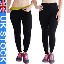 Sweat Body Shaper Pants Yoga Slimming Hot Neoprene Sauna Waist Thigh Trimmer UK