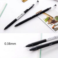 New 3Pcs Cute Funny Gel Pens Novelty Writing Signing Pen Students Office Supply