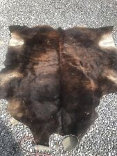 100% Cowhide Rugs Area Cow Skin Leather Cow hide Real C17