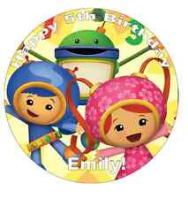 "Team Umizoomi Personalised Cake Topper 7.5"" Edible Wafer Paper Birthdays"