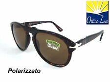 Occhiale sole Persol 649 Colore 24/57 54 Avana Polar 0649 2457 Sunglasses