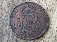 1848 COIN FROM PORTUGAL MARIA 2nd.  Part of a collection