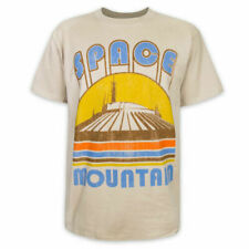 Disney World Space Mountain Retro Style T-Shirt Men's Medium