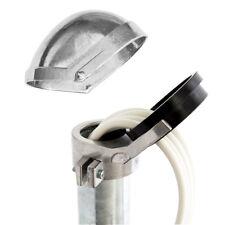 Sat ALU Mastkappe Kabeleinführung Aluminium Dachsparrenhalter 48-52mm Schüssel
