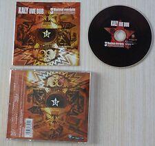 RARE CD ALBUM 3 MAXIMAL OVERDUBS - KALY LIVE DUB 11 TITRES 2004