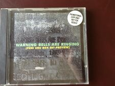 Pere Ubu Promo CD Warning Bells are ringing, cooking vinyl release from '96