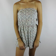 ABERCROMBIE & FITCH WOMEN'S STRAPLESS ROMPER SIZE SMALL