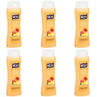Pack of (6) New Alberto VO5 Body Wash, Creamy Mango & Hibiscus 15 fl oz