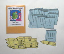 Teacher Made Math Center Learning Resource Game Place Value 2 digits Tens & Ones