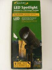 Malibu 6 of LED Spotlight 9W 20W Halogen Equiv Low Voltage landscape lighting