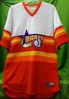 Walt disney world Team Mickey mouse baseball jersey shirt M medium stitched