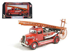 1938 DENNIS LIGHT FOUR FIRE ENGINE RED 1/43 DIECAST MODEL ROAD SIGNATURE 43011