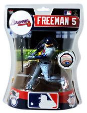 "Freddie Freeman Atlanta Braves Imports Dragon MLB Baseball Action Figure 6"""