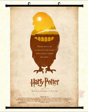 Harry potter the philosophers stone Hedwig  Framed Poster with hooker 24x36 INCH
