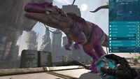 ark survival evolved XBOX PVE Giganotosaurus 1204 weight 965 melee Giga CLONE