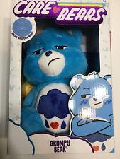 "2020 Care Bears 14"" Medium Plush Soft Huggable Grumpy Bear + Coin FAST SHIPPING"