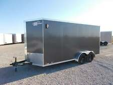 2021 Cross Trailers  7X16' Enclosed Cargo Trailer 12' Add Height