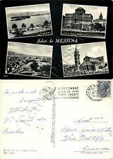 Cartolina saluti da Messina, vedutine - 1959