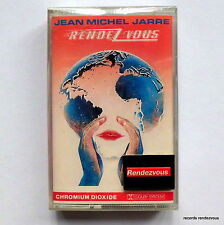 Jean Michel Jarre Rendez-Vous West German Cassette NEW 1986 Dominique Perrier IV