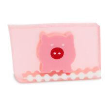 PRIMAL ELEMENTS PINK PIG 6.0 OZ. VEGETABLE GLYCERIN BAR SOAP HANDMADE