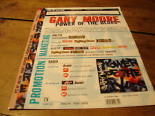 GARY MOORE POWER OF BLUES!!!!!!!!!RARE FRENCH PRESS/KIT