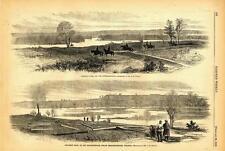 Skinner's Neck & Corbins's Neck on the Rappahannock by Fredericksburg  -  1863