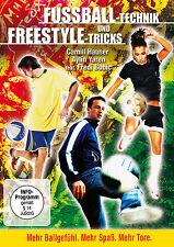 DVD Fussball-Technik und Freestyle-Tricks - NEU - mit Fredi Bobic