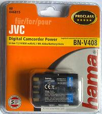 046815 hama ° para JVC bn-v408 GR-dvl GR-DV GR-d GR-PD GR-dz digital proclass