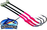 Williamson Single Assist Hooks-- Jigging Hooks-3 Hook Pack -PICK YOUR SIZE