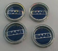 SAAB SONETT 96 99  SOCCER BALL  WHEEL emblem CENTER CAP SET OF 4 NEW