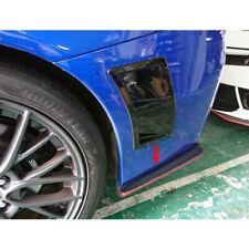 Carbon Fiber For Subaru WRX STI 4th CS Side Rear Bumper Lip Splitter Spoiler