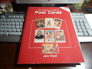 Antique reference book Collector's Guide to Post Cards by Jane Wood