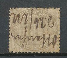 Duitse Rijk  12 gebruikt met penvernietiging