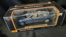 Maisto Jaguar S-Type Blue-Grey  (Die-cast - 1:18 Scale)