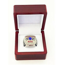 2015 NASCAR LIMITED Edition CA Speedway Auto Club 400 Ring SZ 10.5 DISPLAY BOX