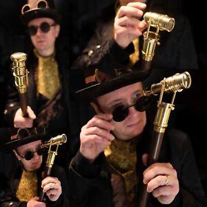 Walking Cane Stick - Mini Tlescope decoration - Gentleman - Telescope - Cane