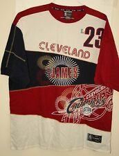 Vtg UNK NBA Cleveland Cavaliers Lebron James # 23 Basketball Shirt New 3XL 2000s
