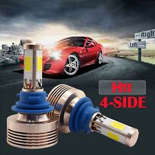 120W 12000LM H8/H9/H11 LED Conversion Headlight Kit Xenon HID Pure White 4 Sided