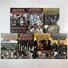 The Walking Dead Horror Comic Graphic Novel Lot #1 14 16 17 18 19 Image Comics
