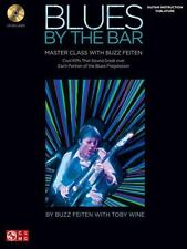 Blues by the Bar Master Class with Buzz Feiten Solos Licks Guitar Tab Book & CD