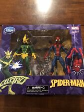 Marvel Select Electro Spiderman Two Pack Disney Store Exclusive