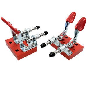 4pcs CNC Fixture Quick Clamp Fixture Tool Engraving Machine Fastening Platen Set
