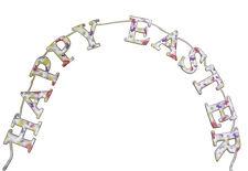 Gisela Graham Daisy Days Easter Garland - Hanging easter decoration