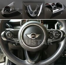 UK STOCK CARBON Effect Steeing Wheel Trims for MINI Cooper F54 F55 F56 F57 F60