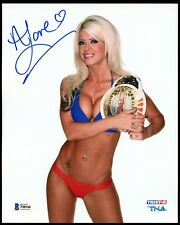 Angelina Love signed autograph 8x10 Photo Woman of Honor Champion Beckett BAS